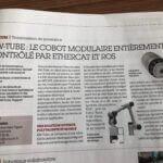 AW-TUBE : LE COBOT MODULAIRE ENTIÈREMENT CONTROLE PAR ETHERCAT ET ROS